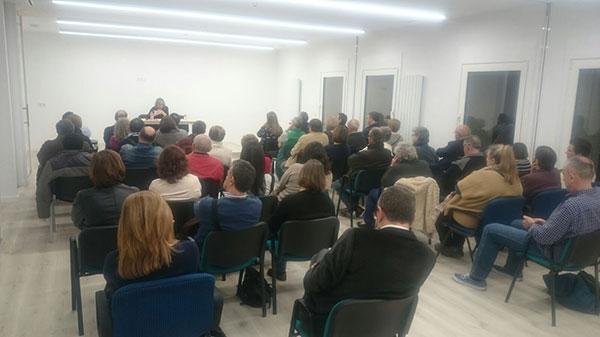 Conferencia María Teresa Compte Grau en la Unidad Pastoral de Milladoiro