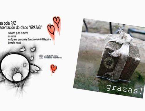 """Misa por la paz y presentación del disco """"GRAZAS"""""""