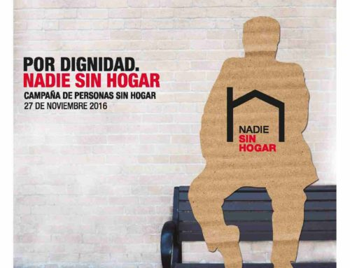 27 de noviembre, Día de las Personas Sin Hogar: Las entidades que trabajan con las personas sin hogar reclaman dignidad y derechos para quienes viven en la calle