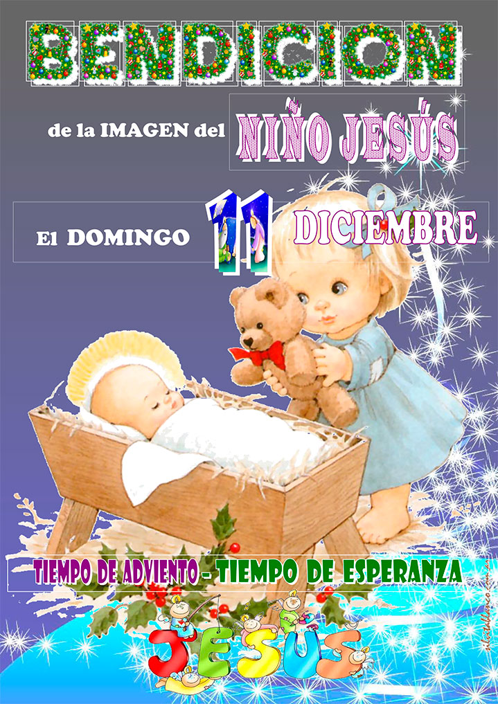 Bendición de la Imagen del Niño Jesús