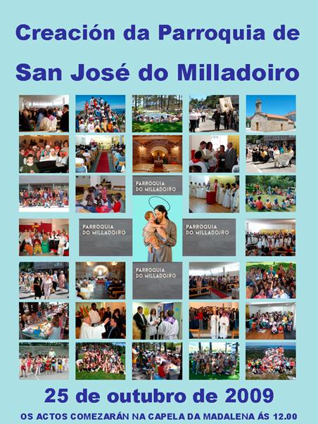 Creación parroquia de san José de Milladoiro