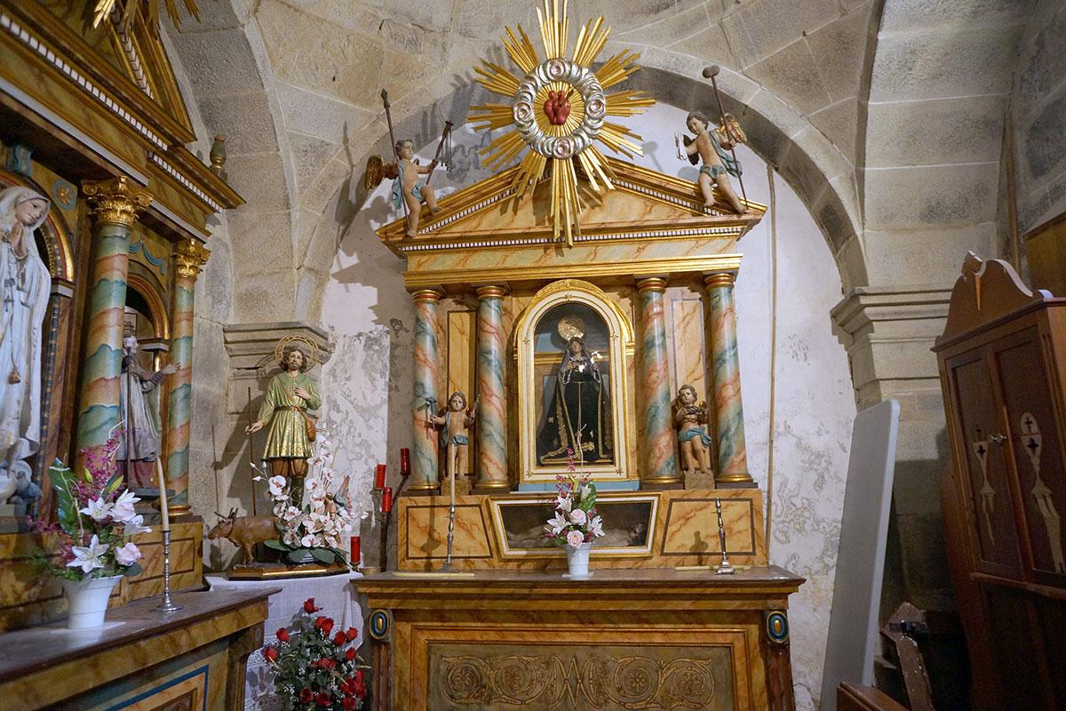 Iglesia de San Cristobal de Reyes - Perteneciente a la Unidade Pastoral de Milladoiro, Teo e contorna