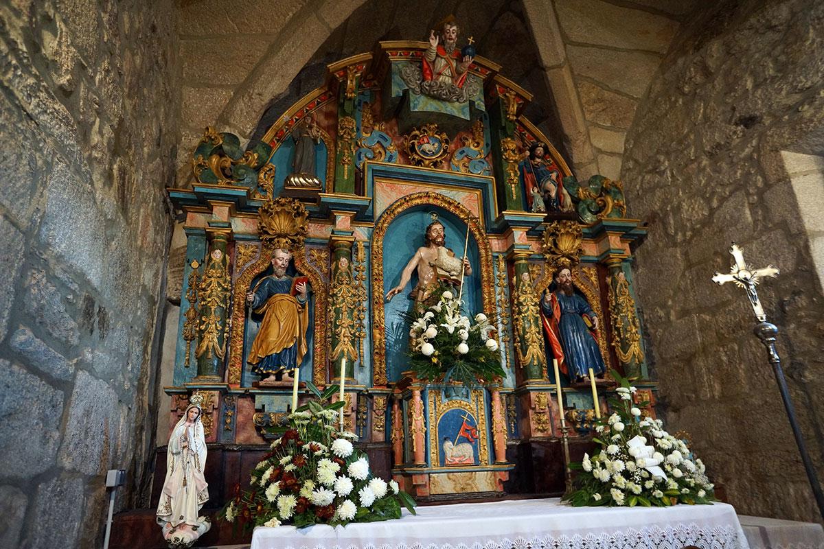 Iglesia de San Juan de Recesende - Perteneciente a la Unidade Pastoral de Milladoiro, Teo e contorna