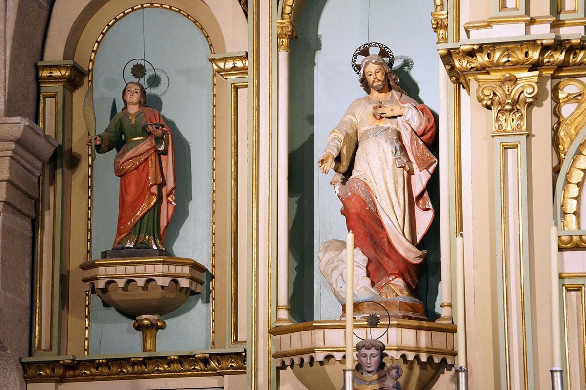 Iglesia de Santa María de Biduído - Perteneciente a la Unidade Pastoral de Milladoiro, Teo e contorna