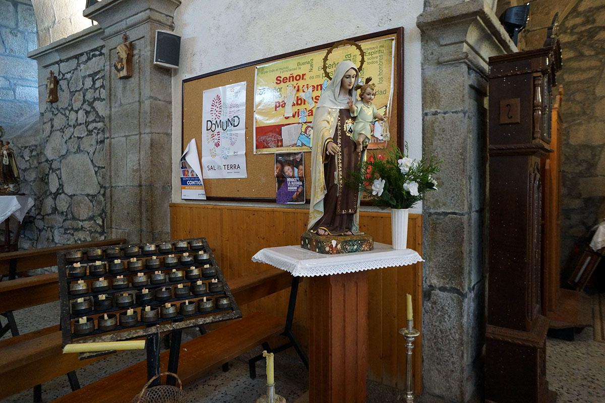 Iglesia de Santa María de Teo - Perteneciente a la Unidade Pastoral de Milladoiro, Teo e contorna