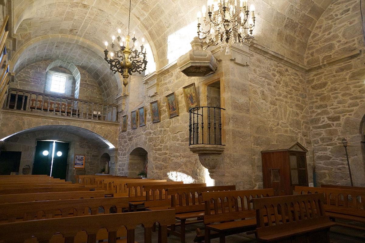 Iglesia de Santa María de Vaamonde - Perteneciente a la Unidade Pastoral de Milladoiro, Teo e contorna