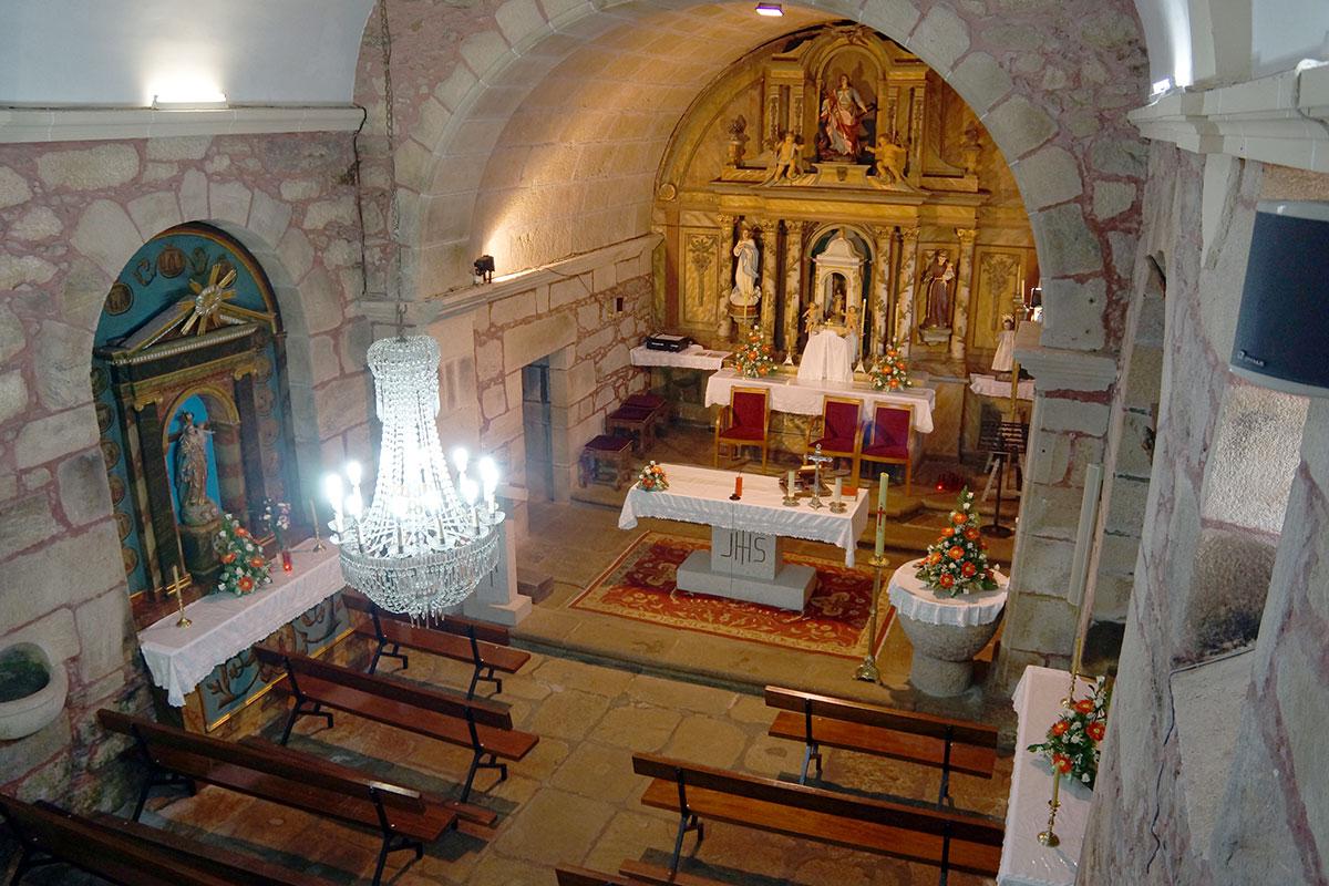 Iglesia de Santa Marina de Lucí - Perteneciente a la Unidade Pastoral de Milladoiro, Teo e contorna