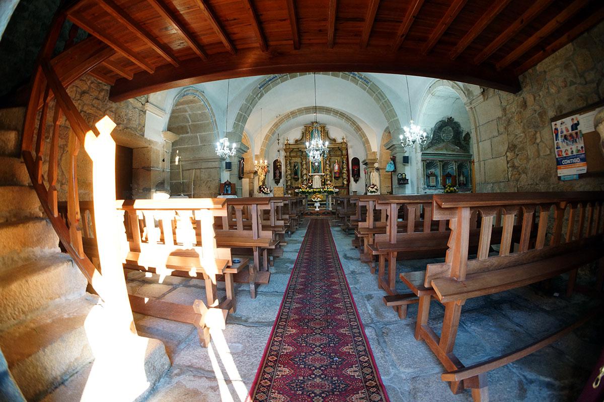 Iglesia de Santo Tomás de Vilariño - Perteneciente a la Unidade Pastoral de Milladoiro, Teo e contorna