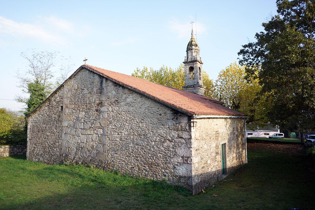 Santuario de Santa Eufemia - Perteneciente a la Unidade Pastoral de Milladoiro, Teo e contorna