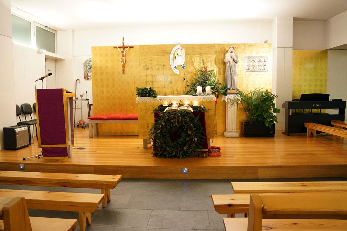 Iglesia de San José de Milladoiro - Perteneciente a la Unidade Pastoral de Milladoiro, Teo e contorna