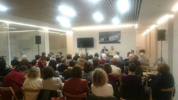 Conferencia Andrés Torres Queiruga en la Unidad Pastoral de Milladoiro