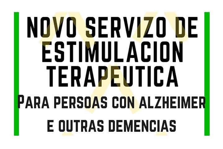 Nuevo servicio de estimulación terapéutica para personas con alzheimer y otras demencias