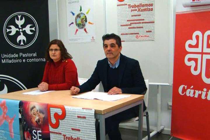 Cáritas Milladoiro atendió a 614 vecinos y ayudó a abandonar la prostitución en 2017