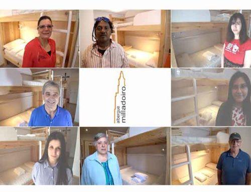 El Albergue de Milladoiro estrena su vídeo promocional
