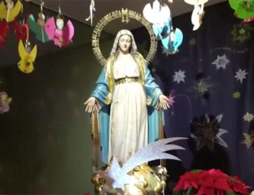 La Parroquia de San José de Milladoiro exhibe su Belén