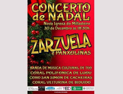Concierto de Navidad – Zarzuela e Panxoliñas – Galería de Fotos