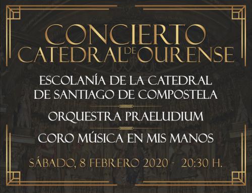 """El coro """"Música en mis manos"""" actúa en Ourense"""