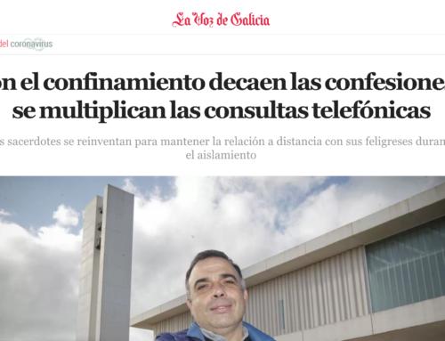 Con el confinamiento decaen las confesiones y se multiplican las consultas telefónicas