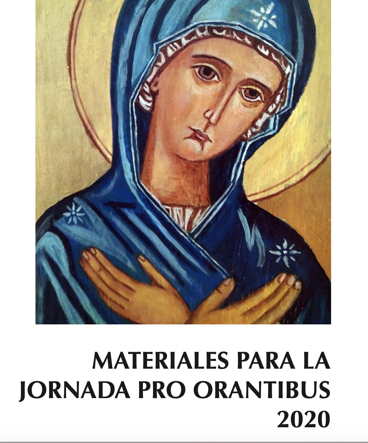 Jornada Pro orantibus 2020.  Con María en el corazón de la Iglesia