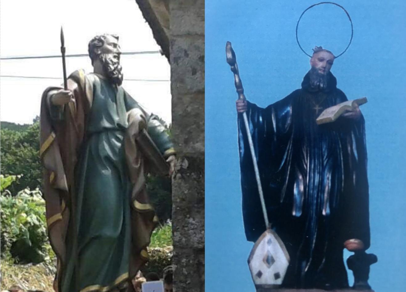 Santo Tomás y San Benito protagonistas en Vilariño