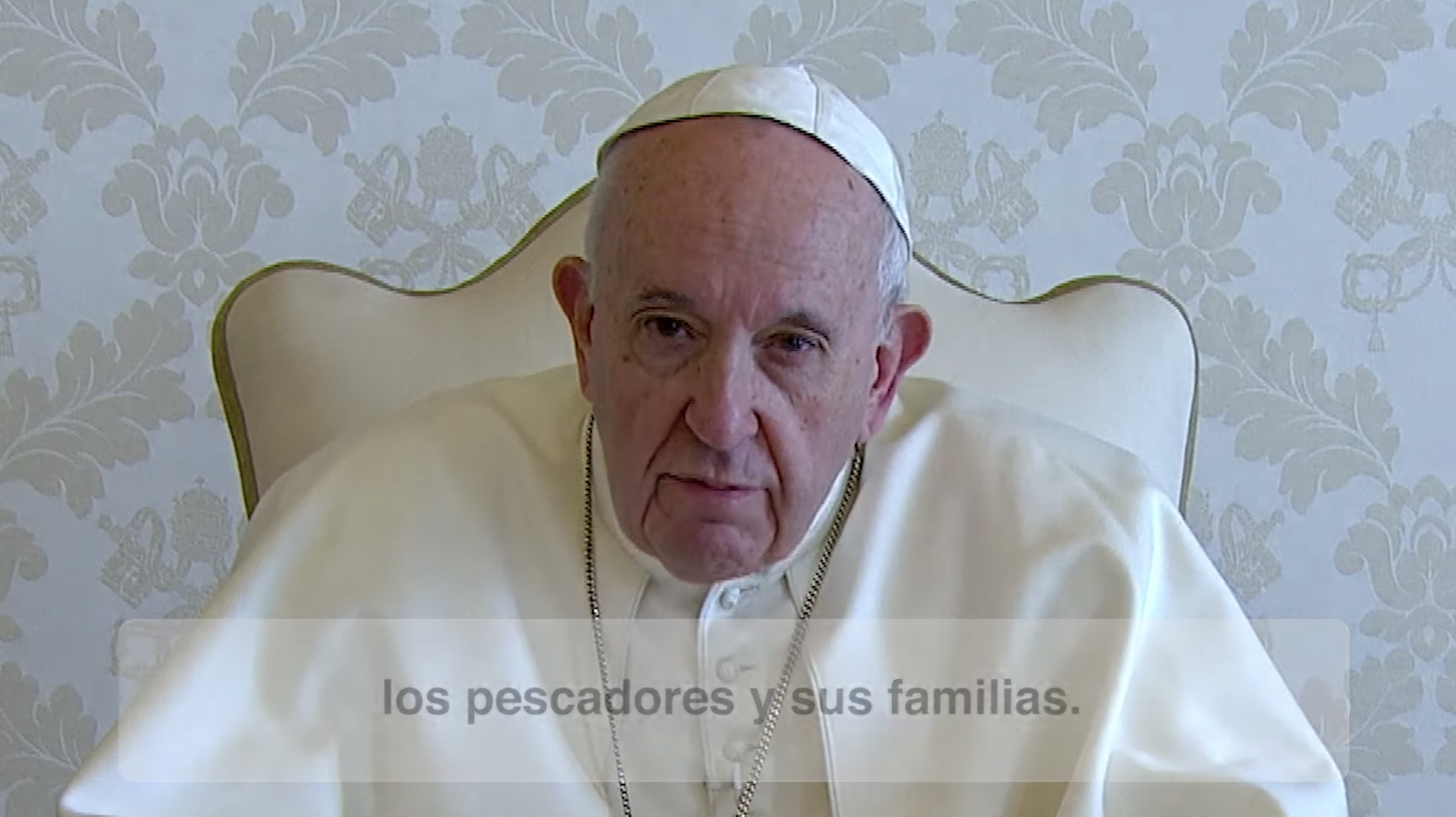 El video del Papa. Agosto 2020. El mundo del mar