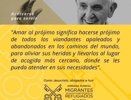 Mensaje del papa Francisco para la Jornada Mundial del Refugiado y del Migrante