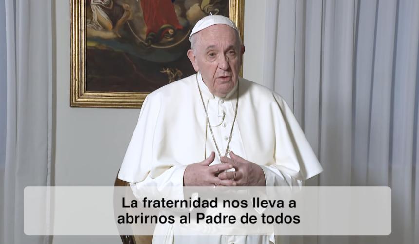 """El video del Papa. Enero 2021. """"Al servicio de la fraternidad"""""""