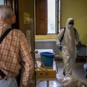 Primer Viernes de Cuaresma. Mayores y Pandemia