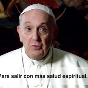 El video del Papa. Marzo 2021. Sacramento de la reconciliación