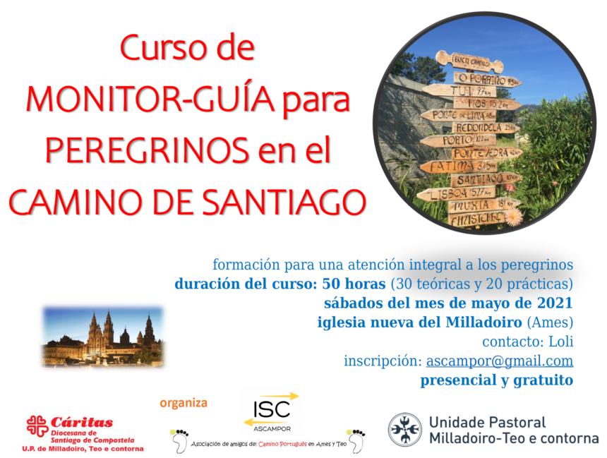 Curso de monitor-guía para peregrinos del Camino de Santiago